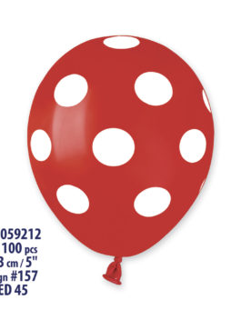 MINI Polka Dots Balloons AS50 5 Inch (100 UNIT)