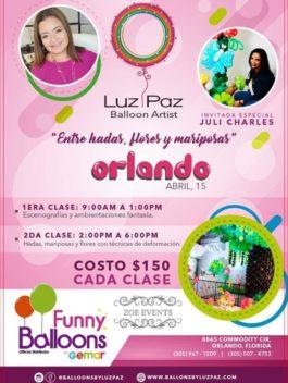 """Orlando, Abril 15, """"Entre Hadas, Flores y Mariposas"""""""