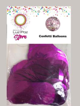 Fuchsia Confetti Bag
