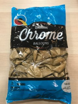 Qualatex Chrome Gold