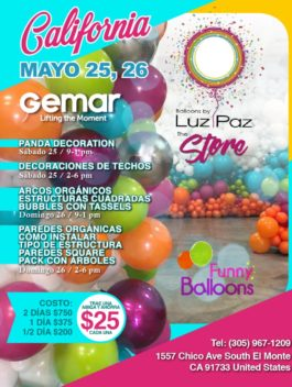 Curso California- Mayo 25-26