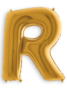 GOLD R (3FT)