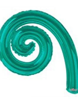 TURQUOISE GREEN SPIRAL