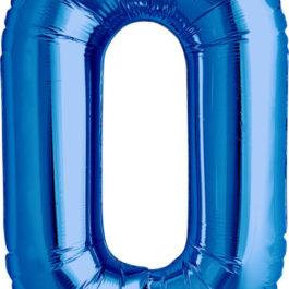 Number 0 ROYAL BLUE