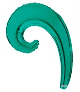 Kurly Wave Turquoise Green