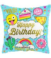 Emoji Happy Birthday Fun