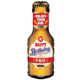 Happy Birthday Beer Bottle