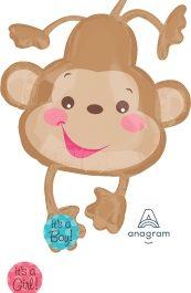 Fisher Price Baby Monkey /w stickers