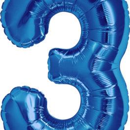 Number 3 ROYAL BLUE