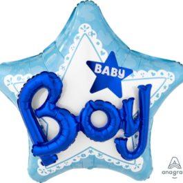 Celebrate Baby Boy 3d