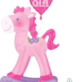 Pink Rocking Horse