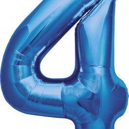 Number 4 ROYAL BLUE
