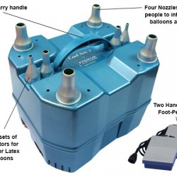 Cool aire 4 balloon inflator