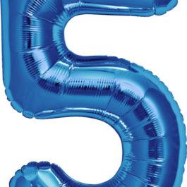 Number 5 ROYAL BLUE