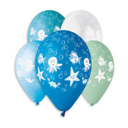 Special Printed Balloons Sea