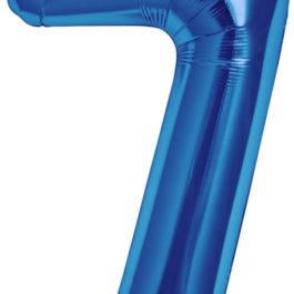Number 7 ROYAL BLUE
