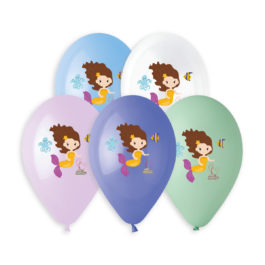 Special Printed Balloons  Little Mermaid