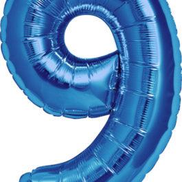 Number 9 ROYAL BLUE