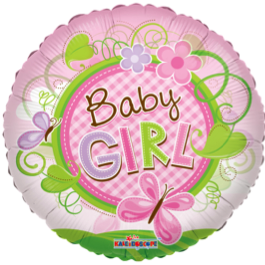 Baby Girl Butterfly (Clearview)