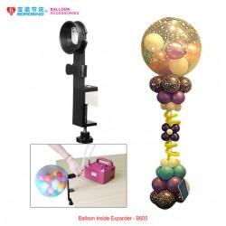 Balloon inside expander