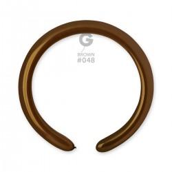 Brown 5 cm / 2in