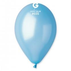 Metallic Light Blue 30 cm / 12in