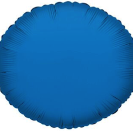 Radiant Blue Round