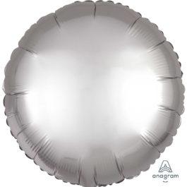 Satin Luxe Platinum (Silver) Round