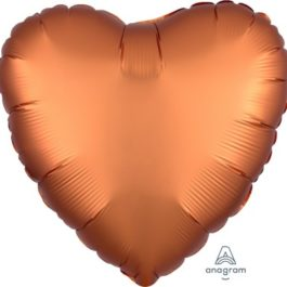 Satin Luxe Amber Heart