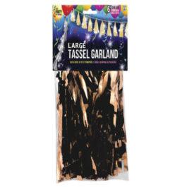 tassel garland / Foil Shimmer Fringe Curtain