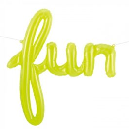Fun Script Words Banner