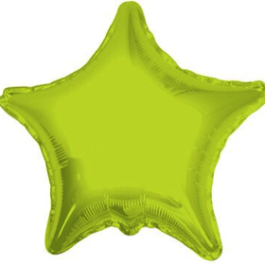 Lime Green Star