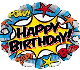 Happy Birthday Comic