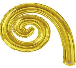 Kurly Spiral Gold