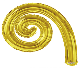 Kurly Spiral Gold