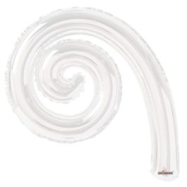 Kurly Spiral White
