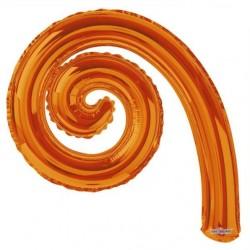 Kurly Spiral Orange