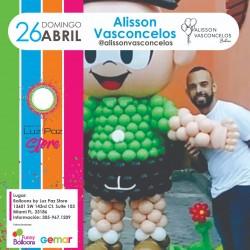 Alisson Vasconcelos – Miami 26 de Abril