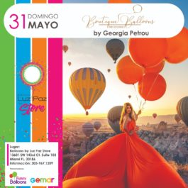 Boutique Balloons Melbourne by Georgia Petrou – Miami 31 de Mayo