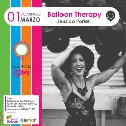 Balloon Therapy – Jessica Porter- Miami 01 Marzo