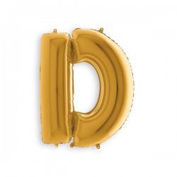 Gold letters 7in