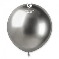 Shiny Silver 48 cm / 19in