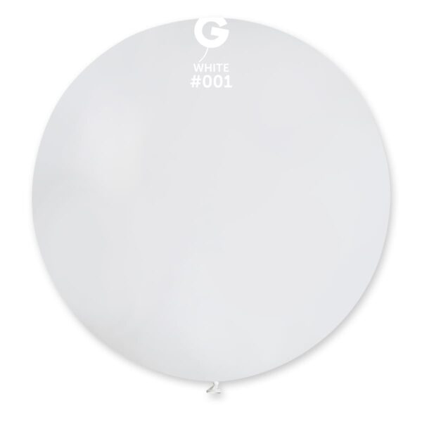 Standard White #001 – 31in