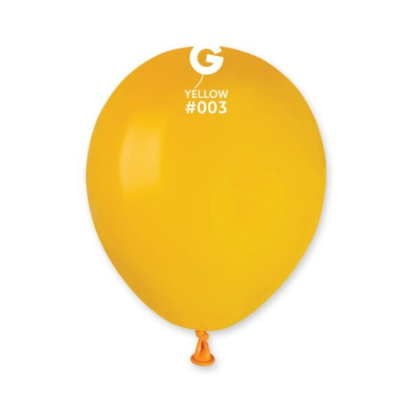 """A50: #003 Yellow 050318 Standard Color 5"""""""