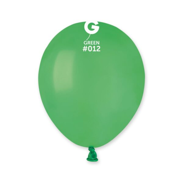 "A50: #012 Green 051216 Standard Color 5"""