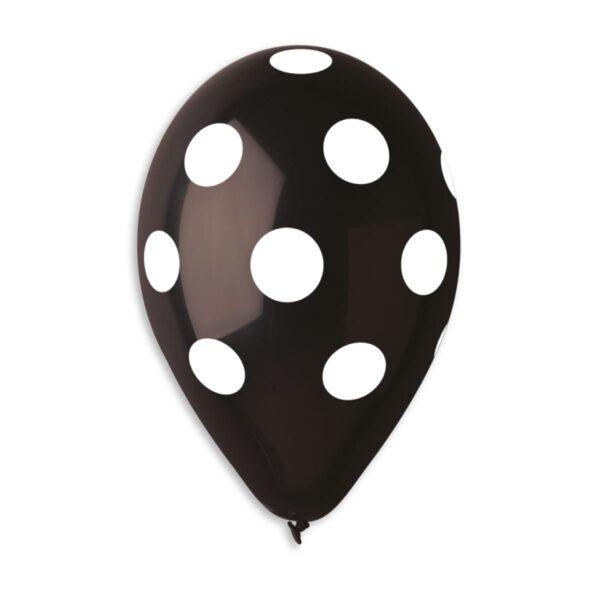 GS110: #014 Black/White Polka Dot 926491