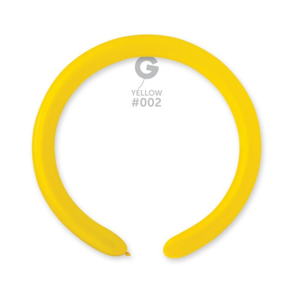 """D4: #002 Yellow 550207 Standard Color 2/60"""""""