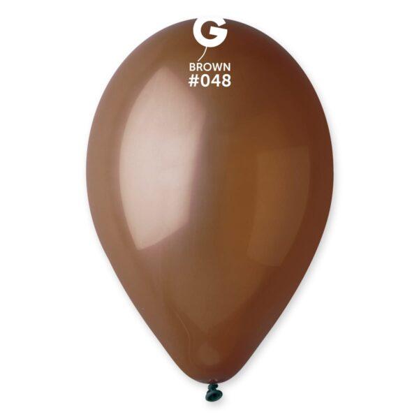 """G110: #048 Brown 114805 Standard Color 12"""""""