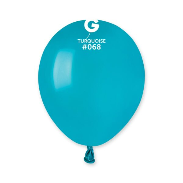 """A50: #068 Turquoise 056815 Standard Color 5"""""""