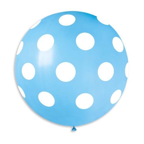 G220P: #009 Light Blue Polka Dot 314335